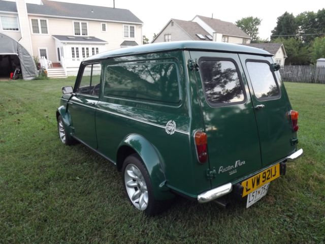 Mini Classic Mini Minivan 1970 Green For Sale Xav1218263a