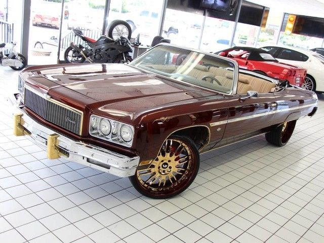 Chevrolet Caprice Convertible 1975 Brown For Sale