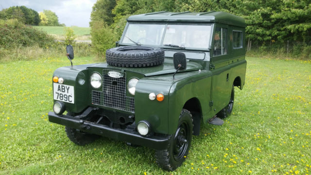 Land Rover Other Suv 1965 Green For 24122020 Clic Series 2a Swb 88 Gasoline Very Clean New Paint Rare