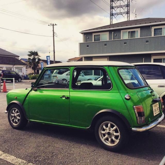 Mini Classic Mini Coupe 1990 Green For Sale 11111111111111111