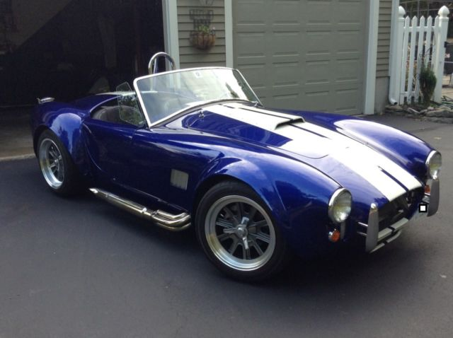 Shelby Factory Five Mk4 Convertible 1965 Blue For Sale