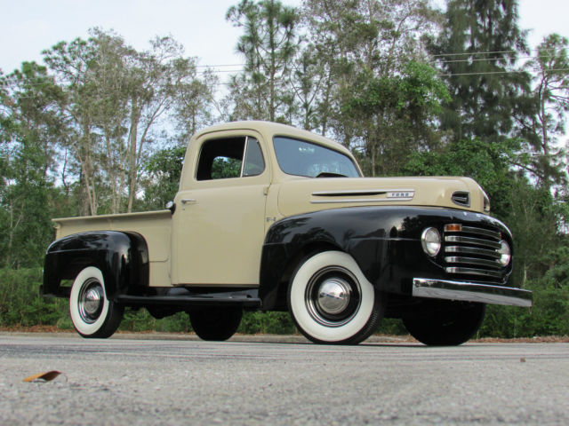 Ford Other Pickups Pickup Truck 1948 Tucson Tan And Luster