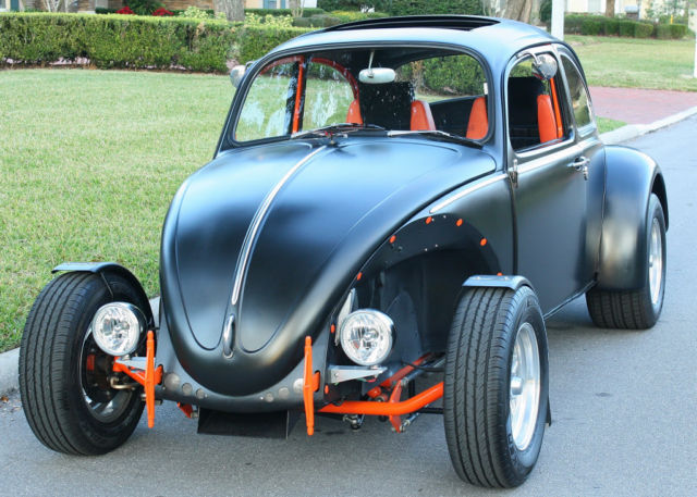 Volkswagen Beetle - Classic Coupe 1966 Flat Black For Sale