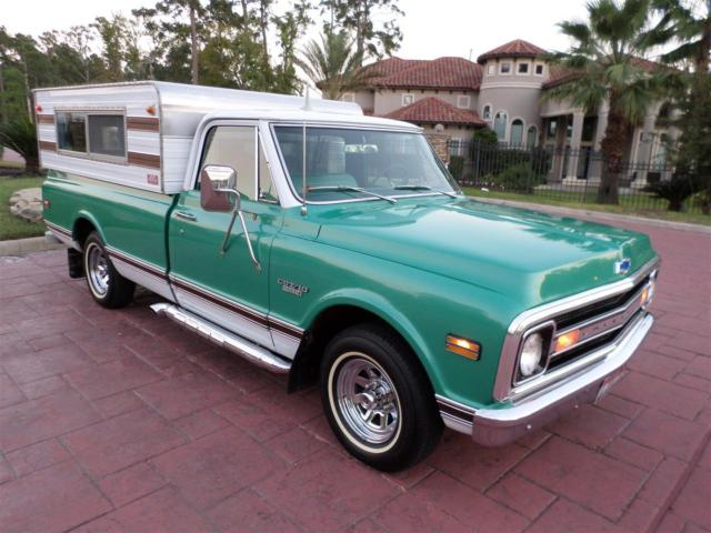 Chevrolet C10 Standard Cab Pickup 1970 Medium Green White For Rhfindclassicars: C10 Cb Radio At Gmaili.net