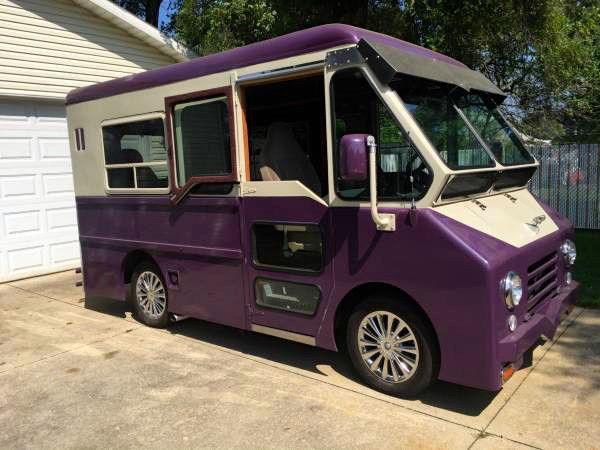 Dodge Other Step Van 1963 Purple And Ivory For Sale  Custom 1963 Dodge P200 Step Van  Camper