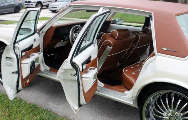 Child Safety Locks >> Chevrolet Caprice 4DR Sedan 1986 Pearl White For Sale ...