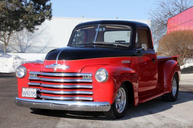 Chevrolet C/K Pickup 1500 Pickup (Truck) 1951 Red For Sale  Custom