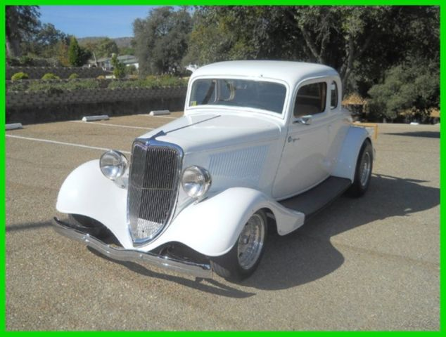 Ford other coupe 1934 white for sale 193334ford custom for 1934 ford five window coupe for sale