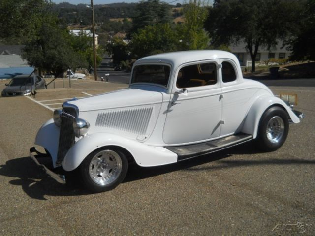 Ford other coupe 1934 white for sale 193334ford custom for 1934 5 window coupe for sale