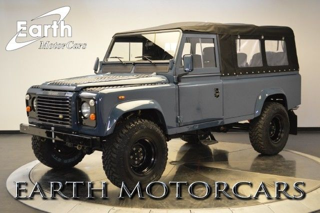 land rover defender suv 1988 blue for sale. Black Bedroom Furniture Sets. Home Design Ideas