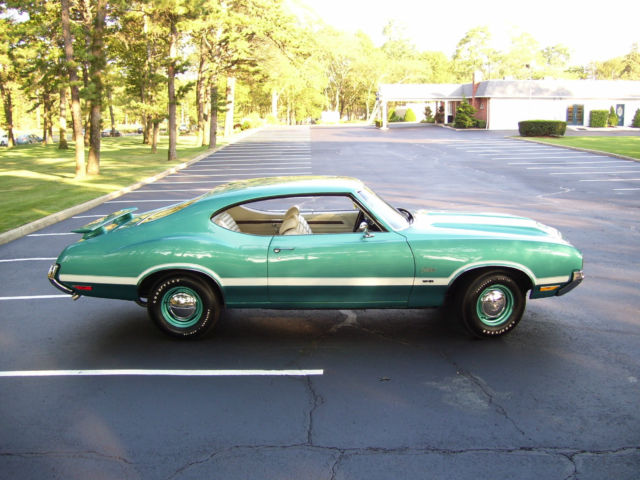 Oldsmobile Cutlass Coupe 1970 Aegean Aqua For Sale  Cutlass