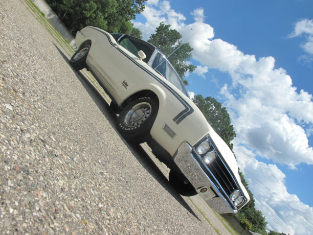 Mercury Other 2 Door 1969 White And Blue For Sale