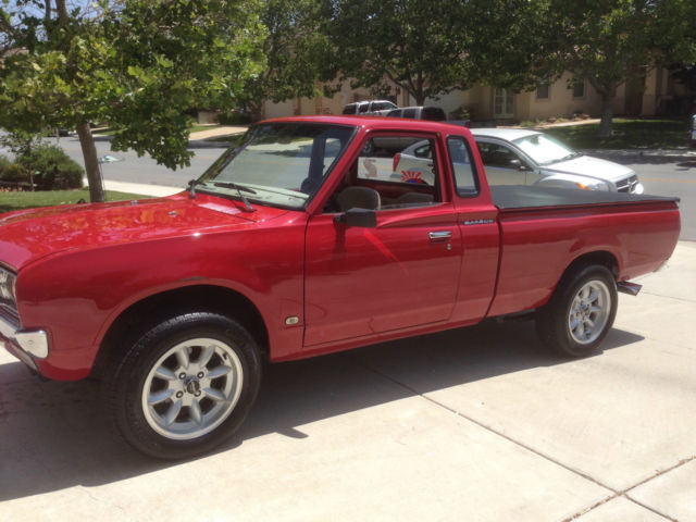 Datsun Other Extended Cab Pickup 1979 Red For Sale ...