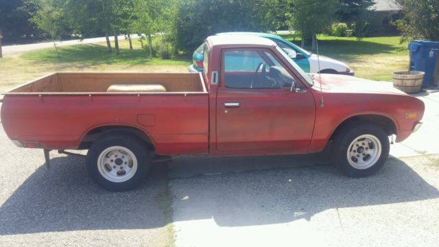 Datsun Other Standard Cab Pickup 1974 Red For Sale ...
