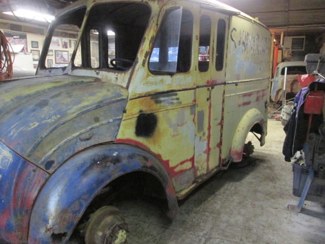 Used Cars Orillia >> Other Makes milk truck 1950 patina For Sale. 301445847 ...