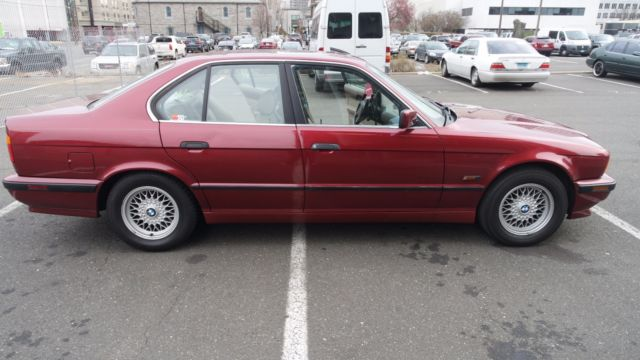 bmw 5 series sedan 1994 red for sale wbahe1326rge54636 e34 1994 bmw rh findclassicars com 1994 bmw 525i owners manual 1994 bmw 525i owners manual