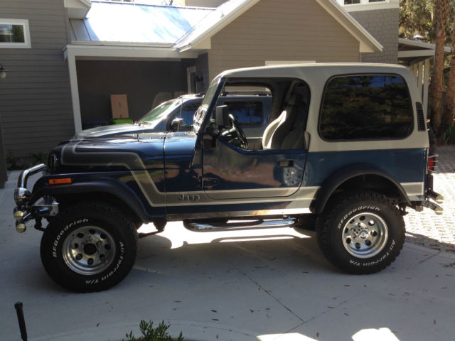 For sale 1984 Jeep CJ & Jeep CJ [xfgiven_type]%xfields_type%[/xfgiven_type] 1984 Blue For ...