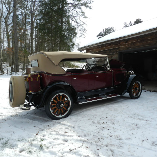 Buick Cars For Sale: Buick Touring 4S 1924 Maroon And Black Original Color For