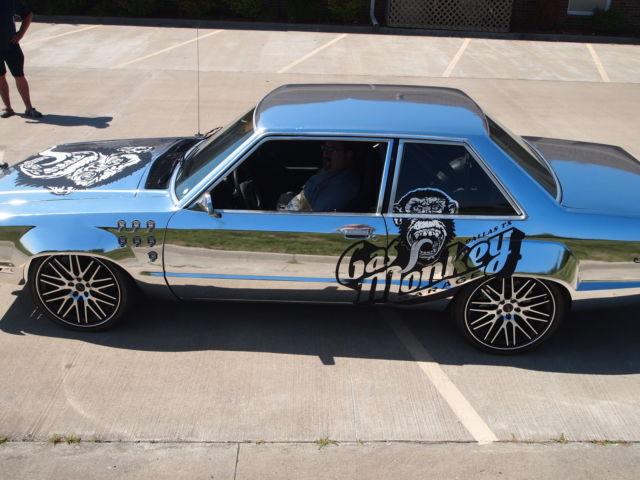 ford fairmont sedan 1978 chrome wrap for sale 8x91f149203 fast n loud gas monkey garage drift car. Black Bedroom Furniture Sets. Home Design Ideas