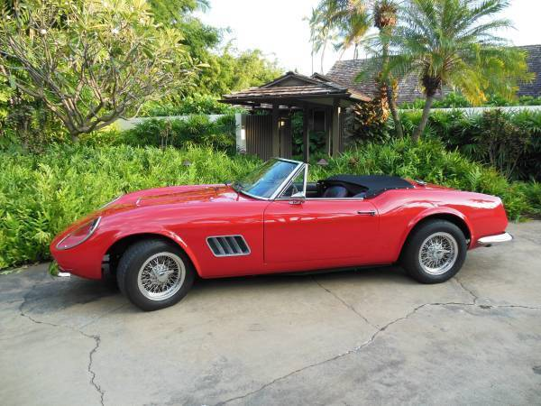 ferrari other convertible 1960 red for sale. Black Bedroom Furniture Sets. Home Design Ideas
