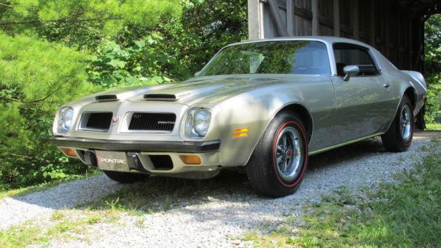 1974 Firebird Formula Ram Air : Pontiac firebird coupe silver for sale xfgiven vin