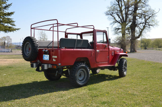 Toyota Land Cruiser Convertible 1980 Red For Sale 1980