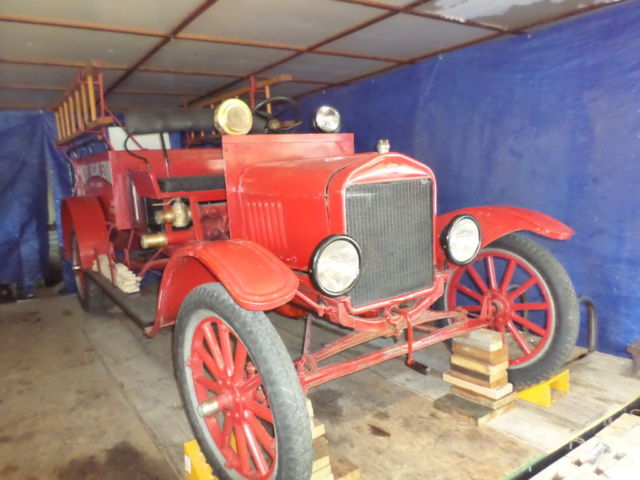 Used Fire Trucks For Sale >> Ford Model T Fire truck 1917 Red For Sale. Ford 1917 Model ...