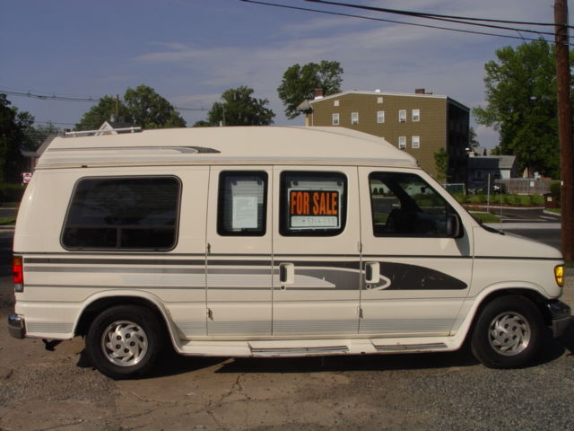 Ford E Series Van Custom Passenger Van 1993 White For Sale
