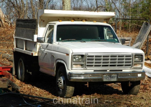 ford f 350 dump truck 1980 white for sale f37gcjg6382 ford f350 rh findclassicars com 1980 ford f350 truck 1990 Ford F-350 Dually