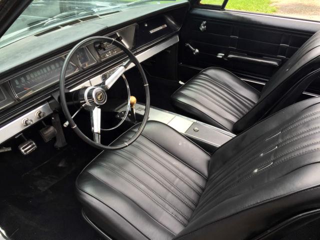 Chevrolet Impala Convertible 1966 Black For Sale 168676D105121