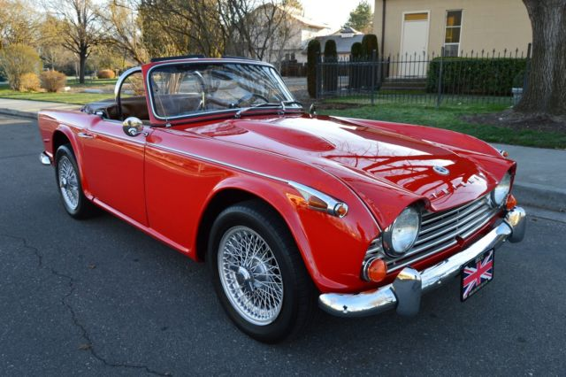 Triumph Other Convertible 1967 Red For Sale Ct69867l Gorgeous Body