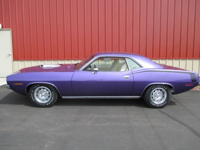 Plymouth Barracuda Coupe 1970 Plum Crazy Purple For Bs23rob146730 Hemi Cuda