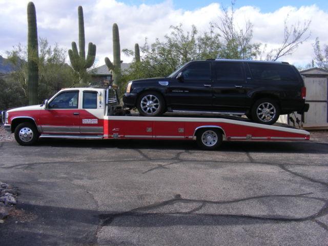 Chevrolet Silverado 3500 Wedge Style Car Carrier Hodge S