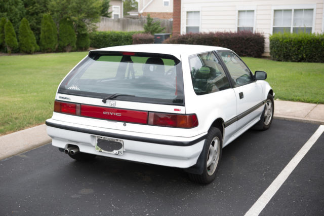 Civic Classic Sedan Black Olx: Honda Civic Hatchback 1990 White For Sale