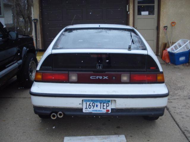 honda crx hatchback 1991 white for sale jhmed9368ms000500 honda crx si 1991 1 6 manual 5 speed. Black Bedroom Furniture Sets. Home Design Ideas