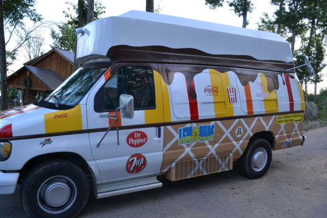 Ice Cream Truck 1993 Ford Econo Van Conversion E350