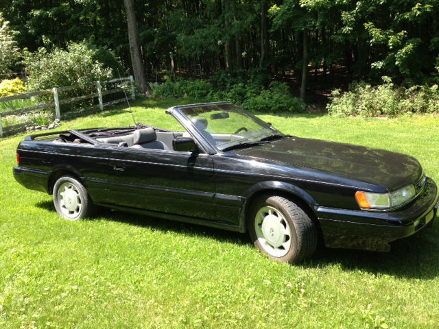 Infiniti M30 1992 Black For Jnxhf16c6nt011091 Convertible Low Mileage Great Shape