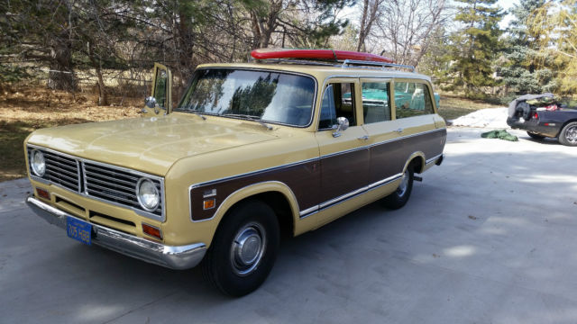 International Harvester Travelall Suv 1973 Yellow For Sale