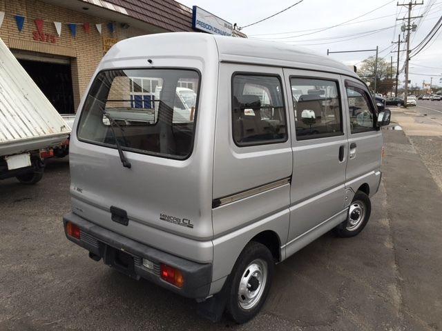 mitsubishi minicab 4x4 japanese import push button 4x4 minivan 1991 silver for sale. Black Bedroom Furniture Sets. Home Design Ideas