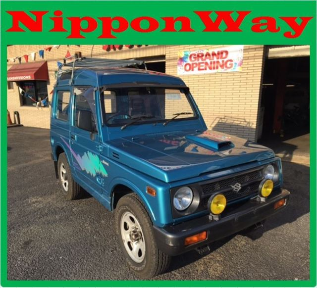 suzuki jimny samurai jeep 1991 blue for sale 11111111111111111 japanese mini truck 1991 suzuki. Black Bedroom Furniture Sets. Home Design Ideas