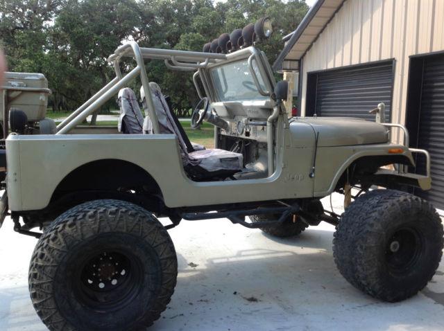 Jeep Cj Jeep 1980 Gold For Sale Jeep Cj7 4x4 Lifted Mud
