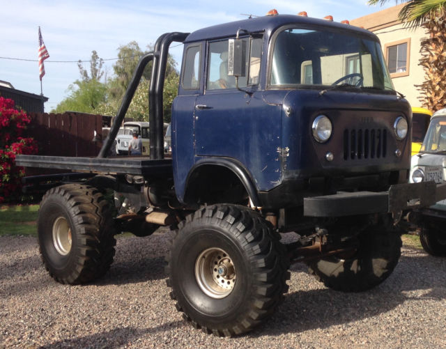 Jeep Fc For Sale >> Willys Fc 170 Standard Cab Pickup 1960 Green For Sale Jeep Fc 170
