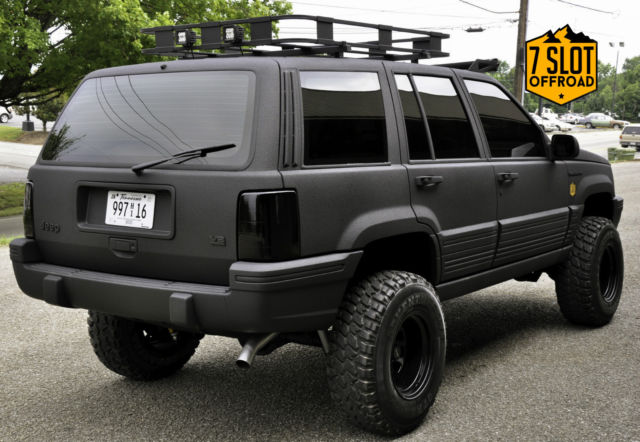 Build Jeep Grand Cherokee >> Jeep Grand Cherokee SUV 1993 Black For Sale