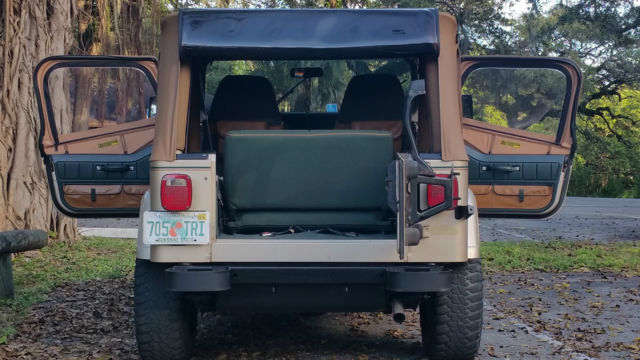 Jeep Wrangler Suv 1994 Champagne Tan For Sale