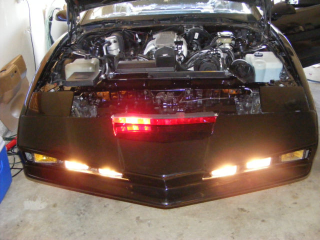 Replica Knight Rider Car Up For Sale On Craigslist: Pontiac Trans Am Coupe 1986 Black For Sale