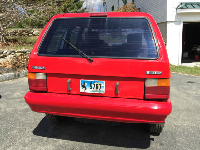 Other Makes LaForza SUV 1989 Red For Sale. 00000000000000000 LAFORZA