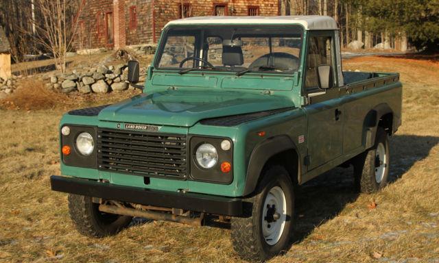 Land Rover Defender pickup 1980 Green For Sale