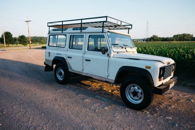 land rover defender suv 1989 white for sale 00000000000000000 land rover defender 110 santana. Black Bedroom Furniture Sets. Home Design Ideas