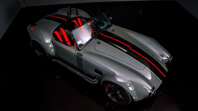 Bmw Certified Pre Owned >> Shelby Backdraft Cobra Roadster 1965 Grigio Medio / Black ...