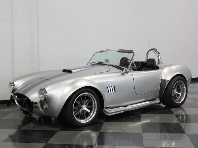 Shelby Cobra Other 1966 Silver For Sale  LONESTAR BUILD, CRATE 302 W